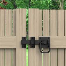 Zenith Matte Black Ring Pull Gate Latch Bunnings Warehouse