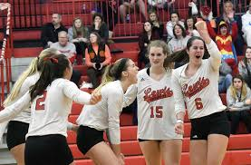 Women's volleyball: Hyland, Becker honored at final home game | The  Herald-News