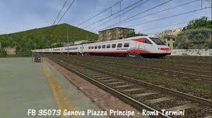 Treni a La Spezia Centrale su Openrails - YouTube