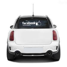 Custom Facebook Thumb Decal
