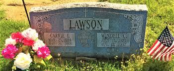 Windell Castle Lawson (1920-2007) - Find A Grave Memorial