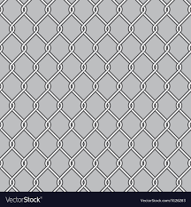 Chain Link Fence Royalty Free Vector Image Vectorstock