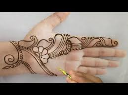 Stylish Mehndi Design Easy Easy