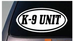 K9 Unit Sticker Decal Police Sticker Decal Window Decal Sticker Ebay