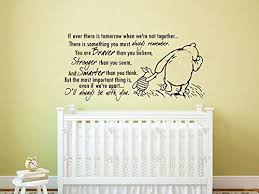 Quote Wall Decal Vinyl Sticker Decals Quotes Winnie The Pooh Quote Braver Stronger Smarter Nursery Decor Kids Baby Room Bedroom Zx210 Baby B017wd0s6i