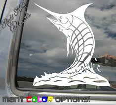 Marlin Fish Fishing Car Laptop Bumper Window Vinyl Decal Sticker 01271