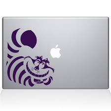 Alice In Wonderland Cheshire Cat Macbook Decals The Decal Guru