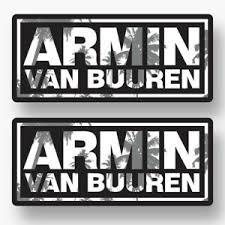 2x Armin Van Buuren Sticker Vinyl Decal Car Window Music Edm Trance Dj Edc Club Ebay