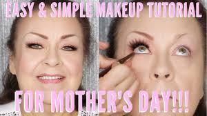 simple and easy mothers day makeup
