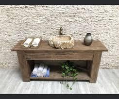 old teak bathroom cabinet mixa