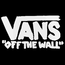 Vans Off The Wall Rough Decal Sticker