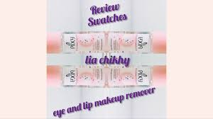 eye and lip remover review swatches