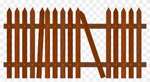Graveyard Clipart Fance Broken Fence Png Free Transparent Png Clipart Images Download