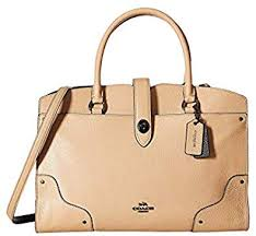 color block leather mercer satchel