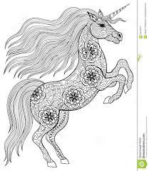 Unicorn Paard Kleurplaat Kleurplaten Adult Coloring Pages