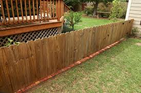 Diy Brick Fence Border Checking In With Chelsea