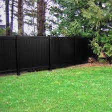 Fence Armor 4 In L X 4 In W X 1 4 Ft H Black Fence Post Guard For Wood Or Vinyl Fa4x4vbmb The Home Depot