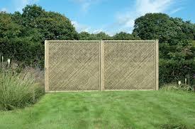 20mm Gap Privacy Trellis Atkinsons Fencing Garden Trellis Fence
