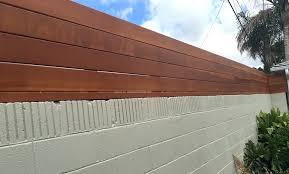 Related Image Cinder Block Walls Backyard Backyard Fences