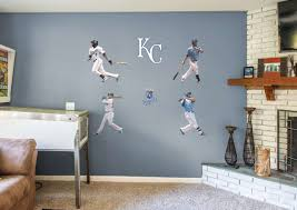 Kansas City Royals Power Pack Fathead Wall Decal Wall Decals Kansas City Royals Kansas City