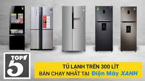 Top 5 tủ lạnh trên 300 lít bán chạy nhất tại Điện máy Xanh năm ...