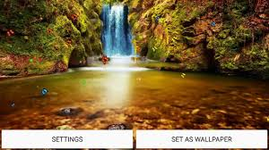 jungle waterfall live wallpaper you