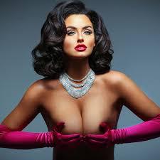 Abigail Ratchford Transforms Into Topless Marilyn Monroe, Farrah Fawcett  for HOT Calendar Shoot