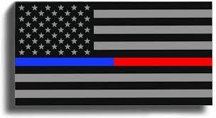 Amazon Com Blue Red Line American Flag Sticker Decal Lives Matter Support Police Fireman Ems Emt Usa Arts Crafts Sewing