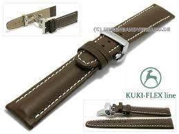 watch strap ku lcdf004 b 23mm dark