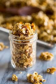 easy and healthy homemade granola