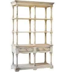 A&B Home 88634 Adela White Bookcase