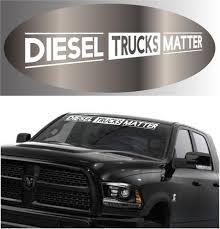 Diesel Trucks Matter Decal Sticker 4x4 Truck Vinyl Banner Topchoicedecals
