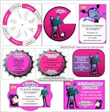 Kit Imprimible Promo 3x1 Vampirina Tarjetas Invitaciones 89 00