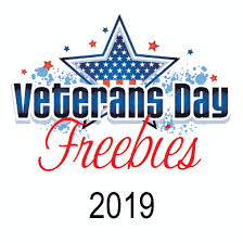 best veterans day deals and freebies