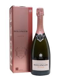 bollinger rose chagne gift box