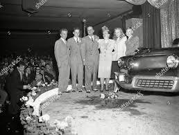 Tucker family stand beside car Preston T Editorial Stock Photo - Stock  Image | Shutterstock
