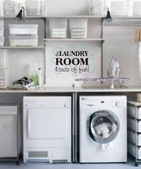Laundry Room With Bubbles Vinyl Wall Decal Etsy