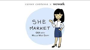 Q+A with Mollie West Duffy: WeWork x Career Contessa Presents SheMarket -  YouTube