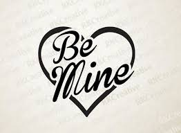 Be Mine Heart Decal Valentine Decal Valentine 39 S Day Decal Wall Decor Wall Decal Wedding Decal Vinyl D Valentine Decals Wedding Decal Heart Decals
