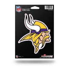 Rico Nfl Minnesota Vikings Die Cut Auto Decal Car Sticker Medium Vdcm Sportzzone