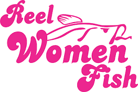 Pink Reel Reel Women Fish Decal Fishing Truck Boat Car Window Trout Bass Sticker Fishing Decals Fish Fishing Women