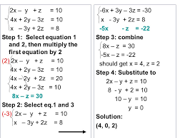 3 5 solving systems of equations in 3