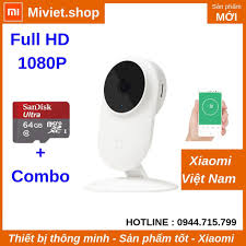 Combo 1080p Camera Giám Sát Ip Xiaomi Mijia 1080p - Thẻ nhớ 64G Camera IP  Xiaomi Mijia 1080p