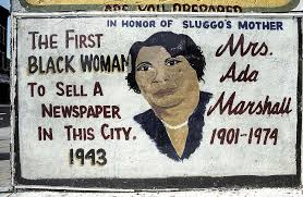 Mrs. Ada Marshall, Martin Luther King Drive at Bostwick, Jersey City, 2004  - PICRYL Public Domain Image