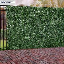 Windscreen4less Artificial Faux Ivy Leaf Decorative Fence Screen 39 X 117 Ivy Leaf Decorative Fence Screen On Galleon Philippines