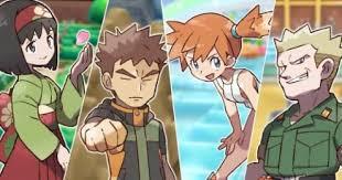 pokemon let s go challenge gym leader