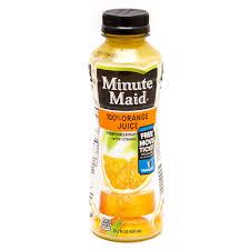 minute maid orange juice 15 2 fl oz