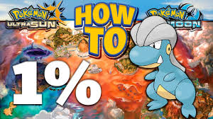 HOW TO GET 1% Bagon in Pokemon Ultra Sun and Moon - YouTube