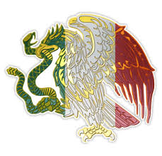 Mexican Flag Eagle Stickers By Rebeldeshirts Redbubble In 2020 Mexican Flag Eagle Mexican Flags Mexican Eagle