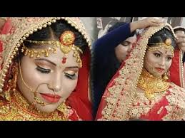 simple and easy indian bridal makeup
